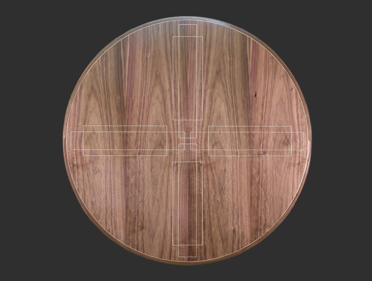 Interlock Table Northwest Woodworkers Gallery