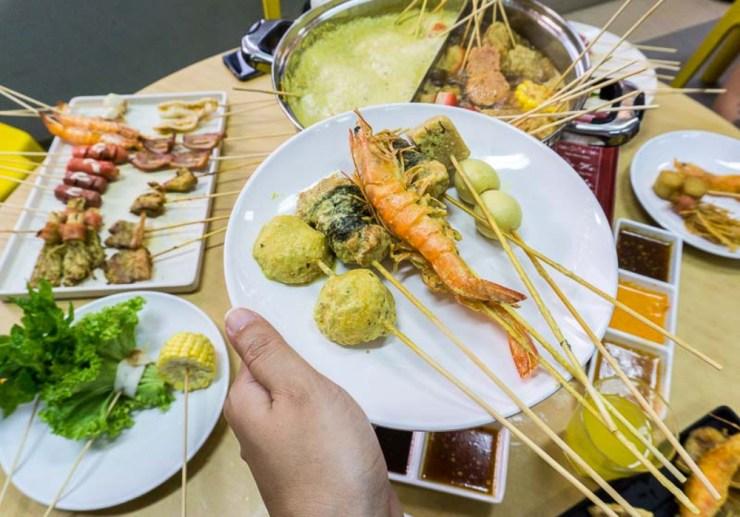 Zao Lek Lok Lok Variety of Skewers