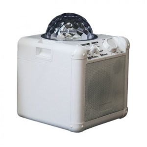 Hybrid KW4L Portable, Battery Operated Speaker with Light Show