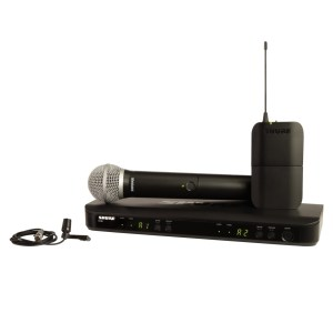 Shure BLX1288/CVL Wireless Combo System