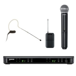 Shure BLX1288/MX53 Wireless Combo System