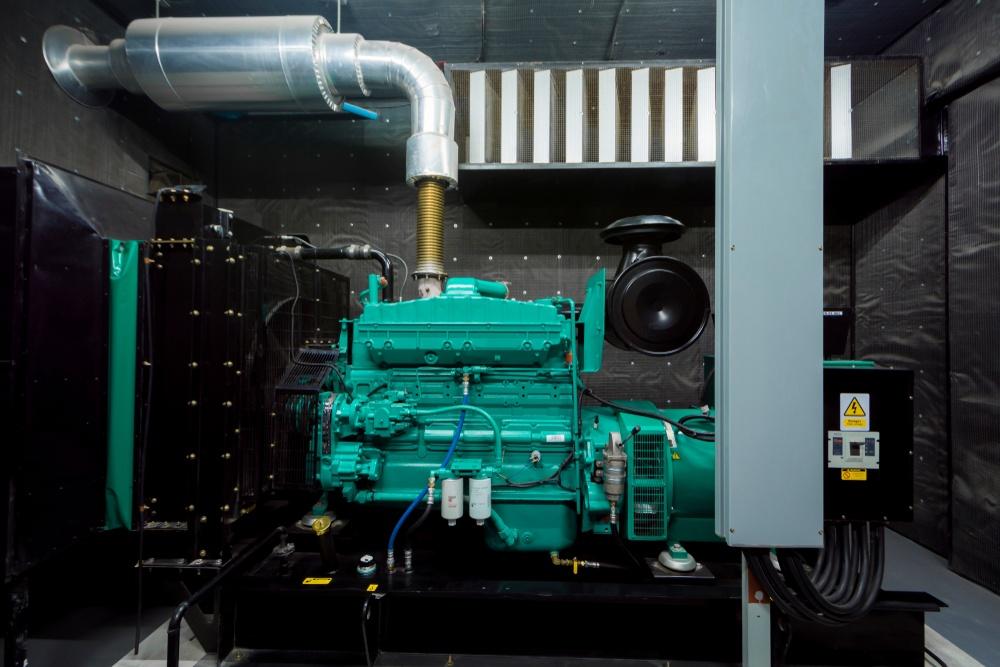 an emergency generator