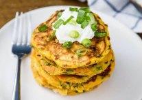 Savory Carrot & Zucchini Pancakes