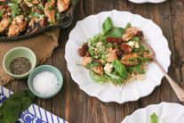 Chicken with Sun-Dried Tomatoes and Feta