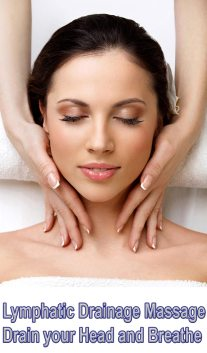Lymphatic Drainage Massage - Drain your Head and Breathe