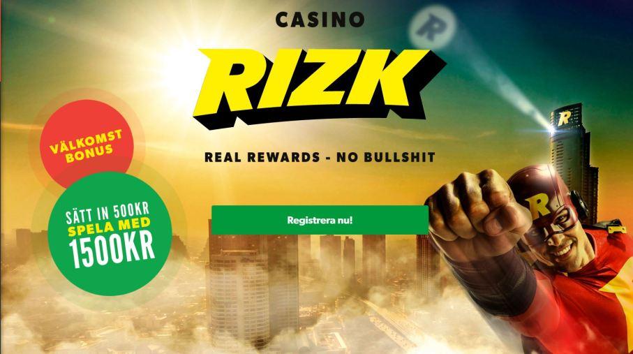 Vinn hos Rizk casino online