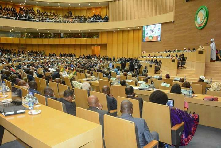 The 28th Extraordinary Session of the African Union in progress in Addis Ababa, Ethiopia(Photo: file)
