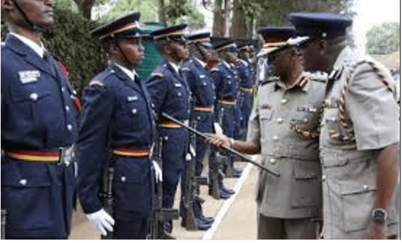 Inspector-General of Police Joseph Boinnet inspects a guard of honour at Parklands police station(Photo: file)Inspector-General of Police Joseph Boinnet inspects a guard of honour at Parklands police station(Photo: file)