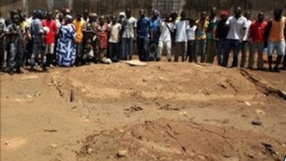 Mass graves discovered by the United Nations in Juba a few days after the Juba massacre, thousands of Nuer were killed and their dead bodies were either burried in mass graves in Juba or loaded in trucks and dumped outside Juba (Photo: Nyamilepedia/file)