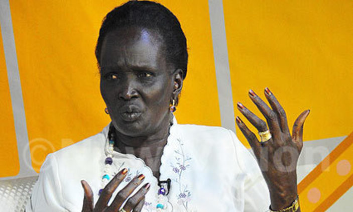 Rebecca Garang de Mabior, Vice President for Gender and Youth (photo credit: courtesy image)