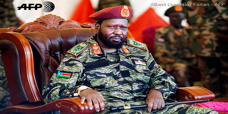 President Salva Kiir attends the 34th Anniversary of the SPLA Day at Bilpam in Juba on May 18, 2017. PHOTO//© Albert González Farran - AFP News Agency