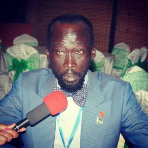 Mabior Garang de Mabior, The SPLM/A(IO) Committee Chairperson for Information and and Public Relations(Photo credit: supplied)