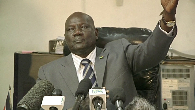 South Sudan information minister and government spokesman Michael Makuei Lueth (Photo: file)