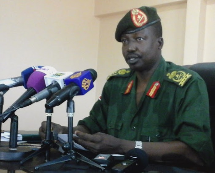 Former Deputy Chief of Staff of South Sudan People Defense Force(SSPDF), Lt. Gen. Thomas Cirilo Swaka, Chairman and Commander in Chief of NAS/A(Photo credit: Nyamilepedia)