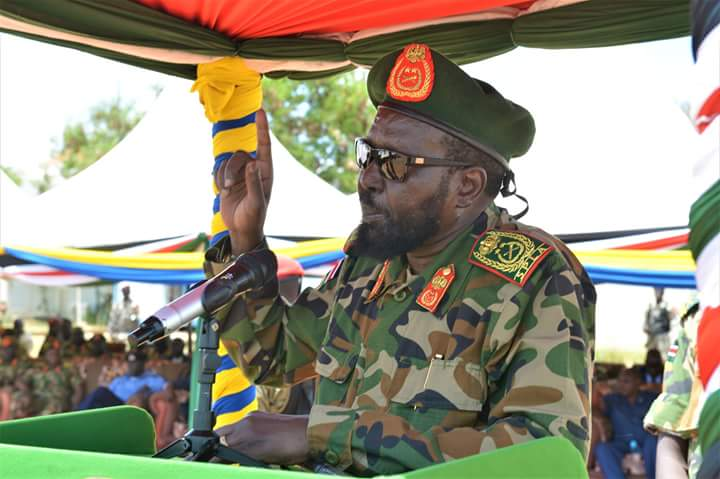 Veteran politicians retired from South Sudan army