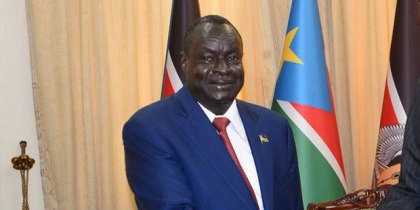 South Sudan Finance Minister, Salvatore Garang Mabiordit (File/Supplied/Nyamilepedia)