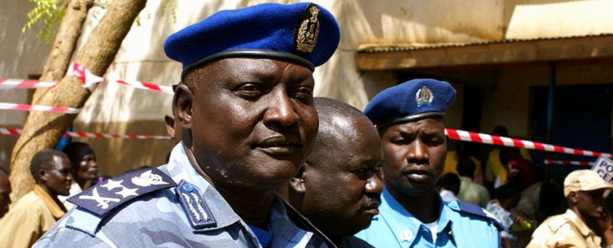Lt Gen. Acuil Tito Madut, former Inspector General of Police Services, Southern Sudan(Photo: file)