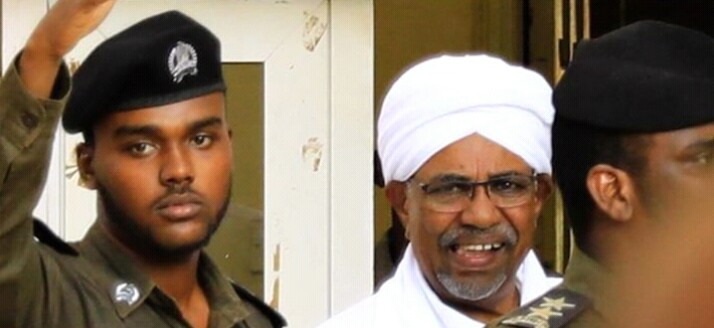 Former Sudanese President Omar al-Bashir (File/Supplied/Nyamilepedia)