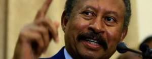 Sudanese Prime Minister Dr. Abdalla Hamdok (File/Supplied/Nyamilepedia)