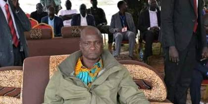 South Sudan's Incumbent First Vice President, Gen. Taban Deng Gai, during a funeral service of late Gen. Chigai Atem.....