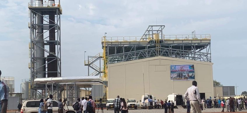 South Sudan's new Juba power plant(Photo credit: supplied/Nyamilepedia)