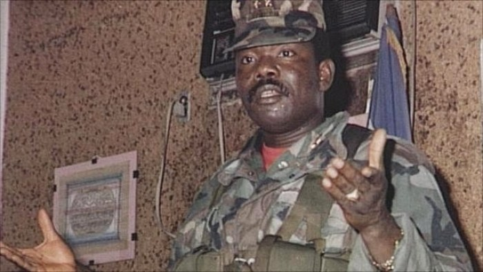 Prince Yormie Johnson, the then rebel leader of Liberia (Photo credit: supplied)