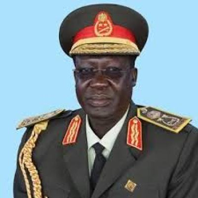 Gen. James Hoth Mai, the former chief of staff of the SPLA and the current Minister of Labour(Photo credit: Nyamilepedia)