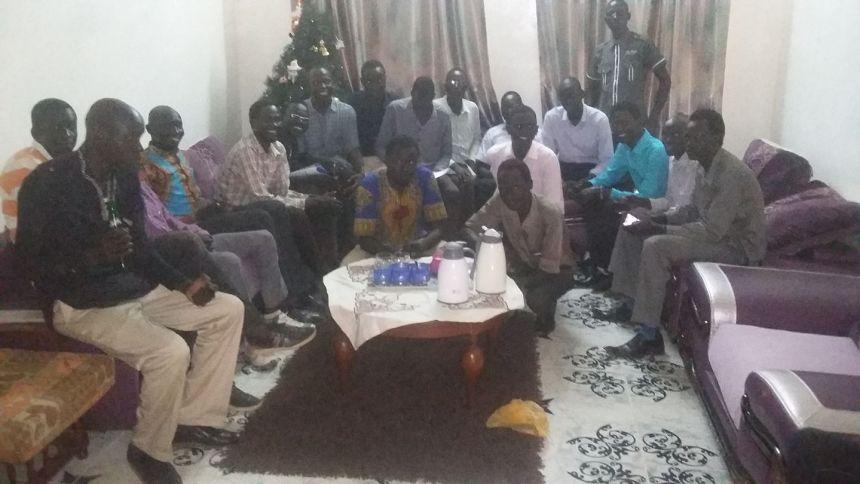 Members of Payinjiar Youth Association in Khartoum, Sudan(Photo credit: Payinjiar)