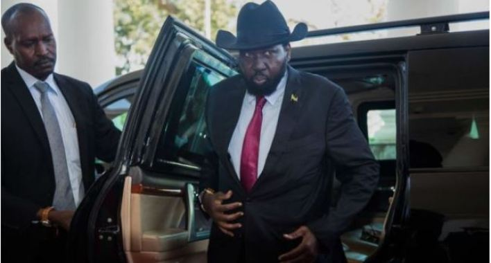 Photo: South Sudan President Salva Kiir Mayardit