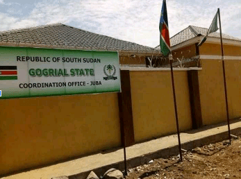 Defunct Gogrial State Coordination Office in Juba, South Sudan(Photo credit: supplied)