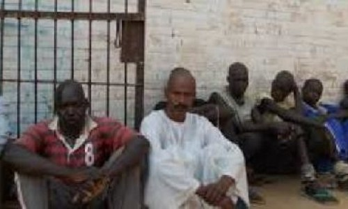 South Sudan inmates from Wau Central Prison (Photo credit: supplied)