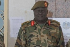South Sudan military intelligence chief Ring Tueny (Photo credit: unknown)