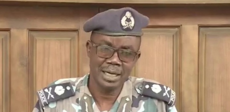 South Sudan police spokesman Major General Daniel Justin Boula Speaking to South Sudan Broadcasting Corporation (Photo credit: SSBC)