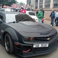 South Sudan president's son spotted in luxurious car in Nairobi