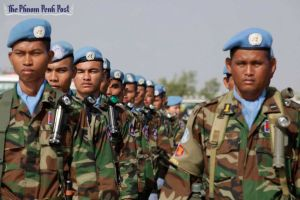 Cambodia peacekeepers serving in the UN (Photo credit: unknown)