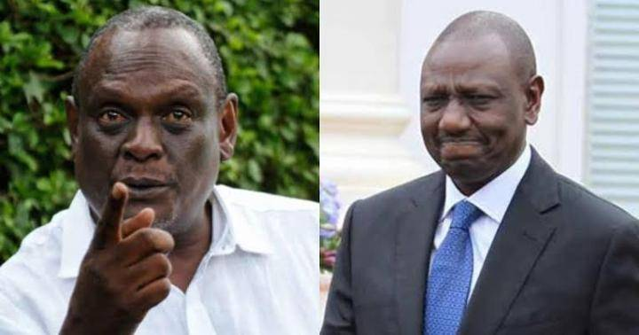 Jubilee vice chairman David Murathe and William Ruto rivalry over Jubilee party(Photo credit: supplied)