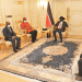 President Kiir bidding farewell to the outgoing Nigerian ambassador to South Sudan, Amb. Obinna Chukwuemeka Agbugba, at J1 on Friday, Oct 30th, 2020(Photo credit: courtesy image/Nyamilepedia)