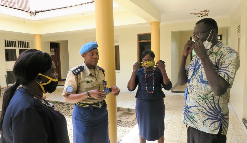 State authorities and UN partners in Eastern Equatoria team up to come up with a comprehensive approach towards sensitizing young people on the need to desist from criminality and violence against women or girls.(Photo credit: UNMISS)