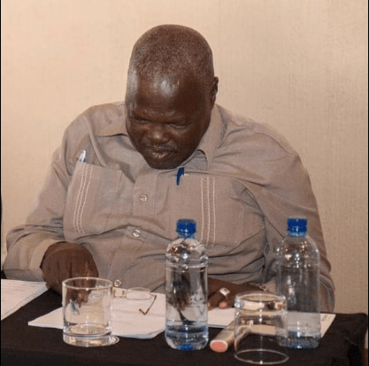 Newly appointed governor of Upper Nile State, Budhok Ayang Kur(Photo credit: courtesy image)