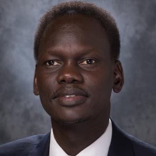 Deng Majok Chol holds an MPA from Harvard University; Global MBA from George Washington University; Bachelor of Science in Political Science and Economics from Arizona State University and he is currently pursuing DPhil at the University of Oxford, School of Geography and the Environment(Photo credit: courtesy image)
