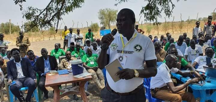Leaders of Lou Nuer, youth and women gracing a peace initiative to end hostilities between Lou-Nuer and Murle March 2021(Photo credit: courtesy image)