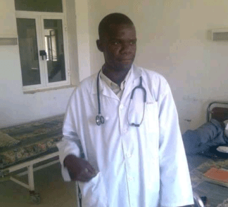 Late Dr. Luis Edward Saleh, a medical professional who was found dead inside a medical facility in Ganyliel, Panyijiar, Unity State, South Sudan(Photo credit: courtesy image/Nyamilepedia)