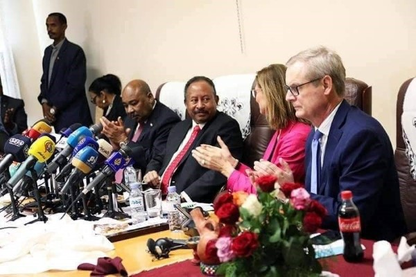 The Friends of Sudan meeting in Khartoum in a meeting chaired by Norway and co-hosted by the Government of the Sudan on 11 December 2019(Photo credit: courtesy image/Nyamilepedia)