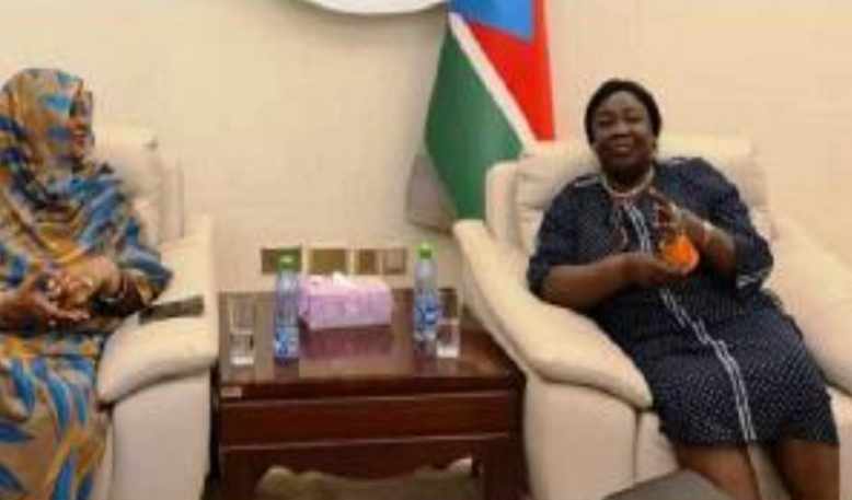 Sudan and South Sudan Ministers of foreign affairs meet over bilateral relations of the two Sudans