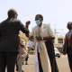 South Sudan's vice president for youth cluster, Hon. Rebecca Nyadeng Garang arriving in Djibouti, May 15, 2021(Photo credit: courtesy image/Nyamilepedia)