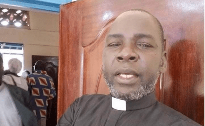 Late Pastor Peter Lokai was the AIC Logistics and DCC Chairman. He was killed on Tuesday morning by unknown gunmen(Photo credit: supplied)