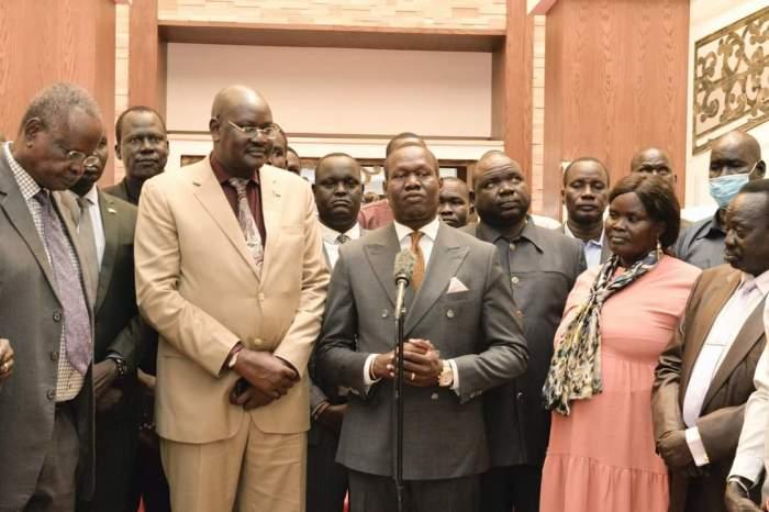 Leek community asks Kiir to provide infrastructure development support