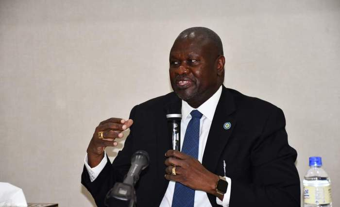 Machar graces launch of symposium on federalism