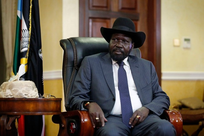 Kiir replaces 35 parliamentary appointees ahead of oath