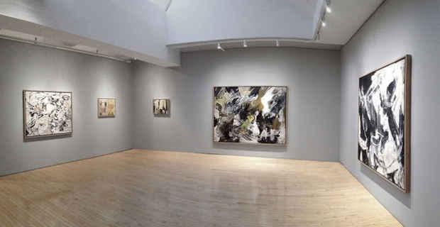 Nyab Event Nicolas Carone Paintings From The 1950s